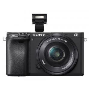 Sony Alpha ILCE-6400L Lens SELP1650 Máy ảnh E-Mount cảm biến APS-C