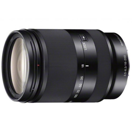 SEL18200LE Ống kính Zoom 11x E 18-200mm F3.5-5.6 OSS LE