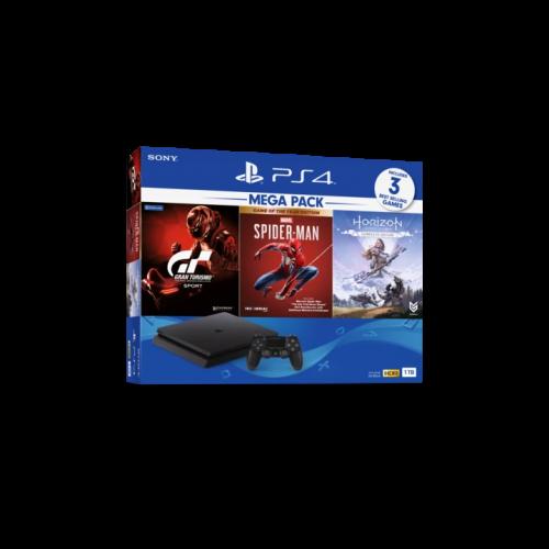 PS4 CUH-2218B MEGA3 Máy chơi game Playstation 4 bộ nhớ 1TB (ASIA-00390)