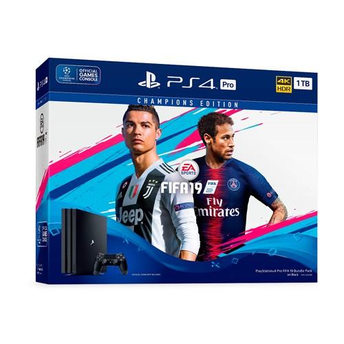 Play Station 4 Pro CUH 7106B 8GB/1TB Phiên bản PS4 Pro FiFa19 Champions