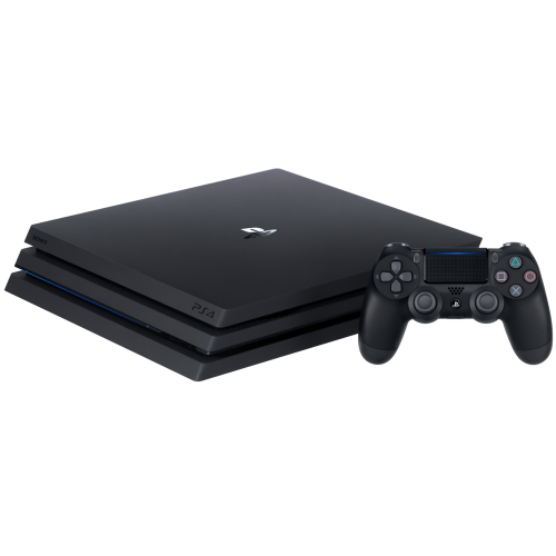 PS4 CUH-7218C PlayStation 4 Pro Jet Black HDD 2TB RAM 8GB