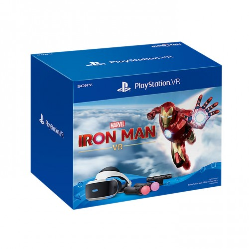 Bộ Kính Thực Tế Ảo PCAS-05111SA - PlayStation VR Marvel's Iron Man VR All-In-One Pack