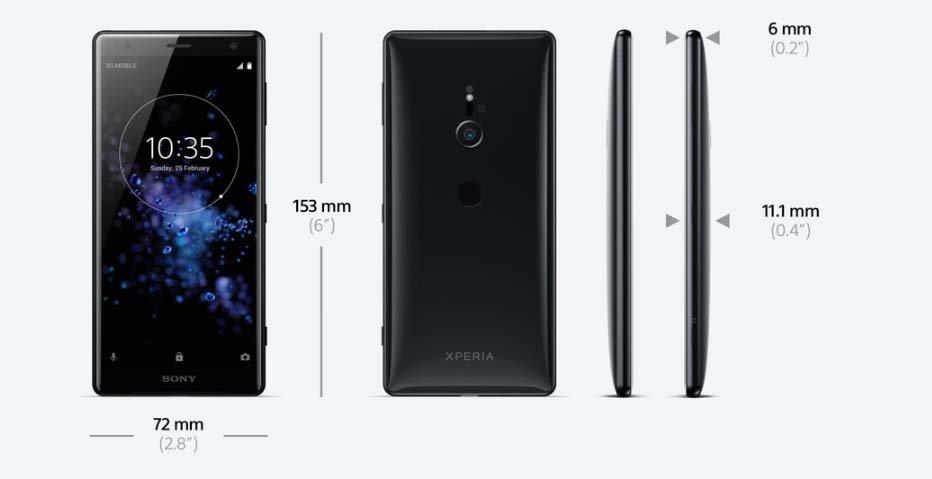 Điện thoại Sony Xperia XZ2 H8266VN