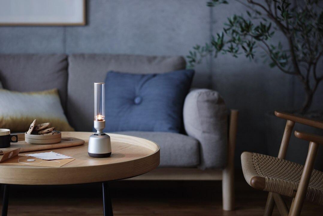 Glass Sound Speaker LSPX-S2 Loa LED Thủy tinh âm thanh 360 độ