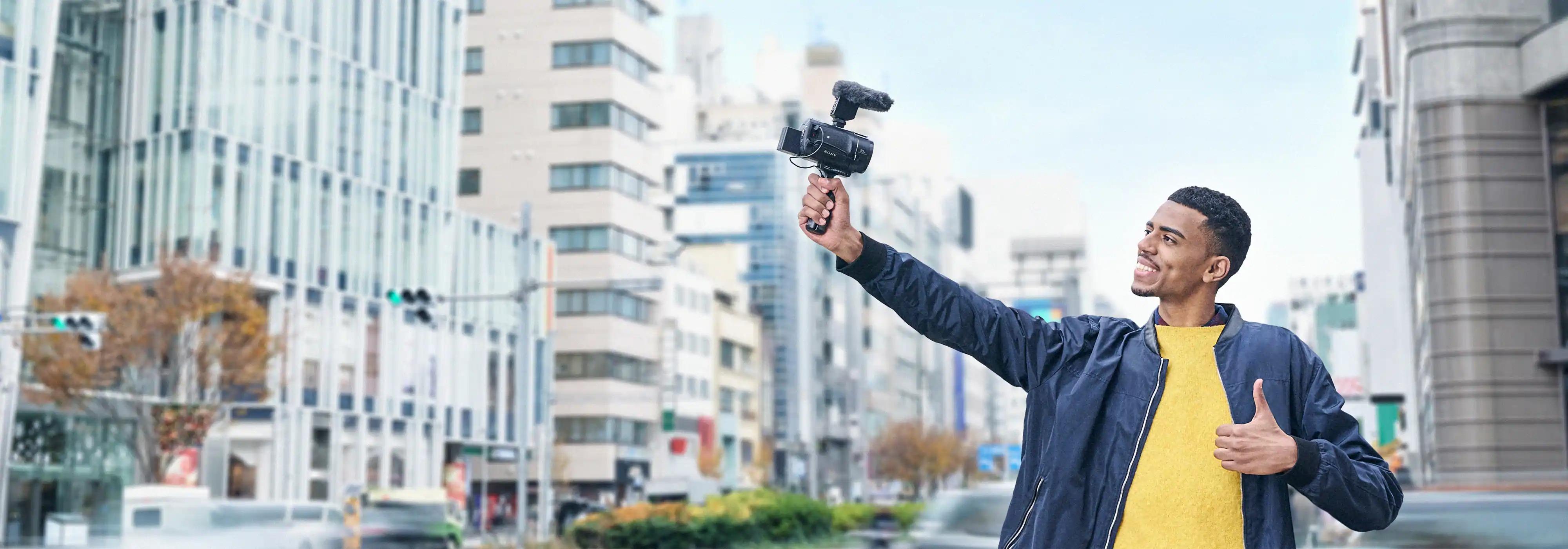 Máy quay phim Sony FDR-AX43