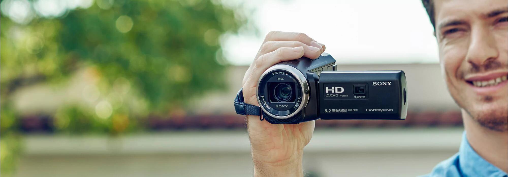 Máy quay phim Handycam PJ675
