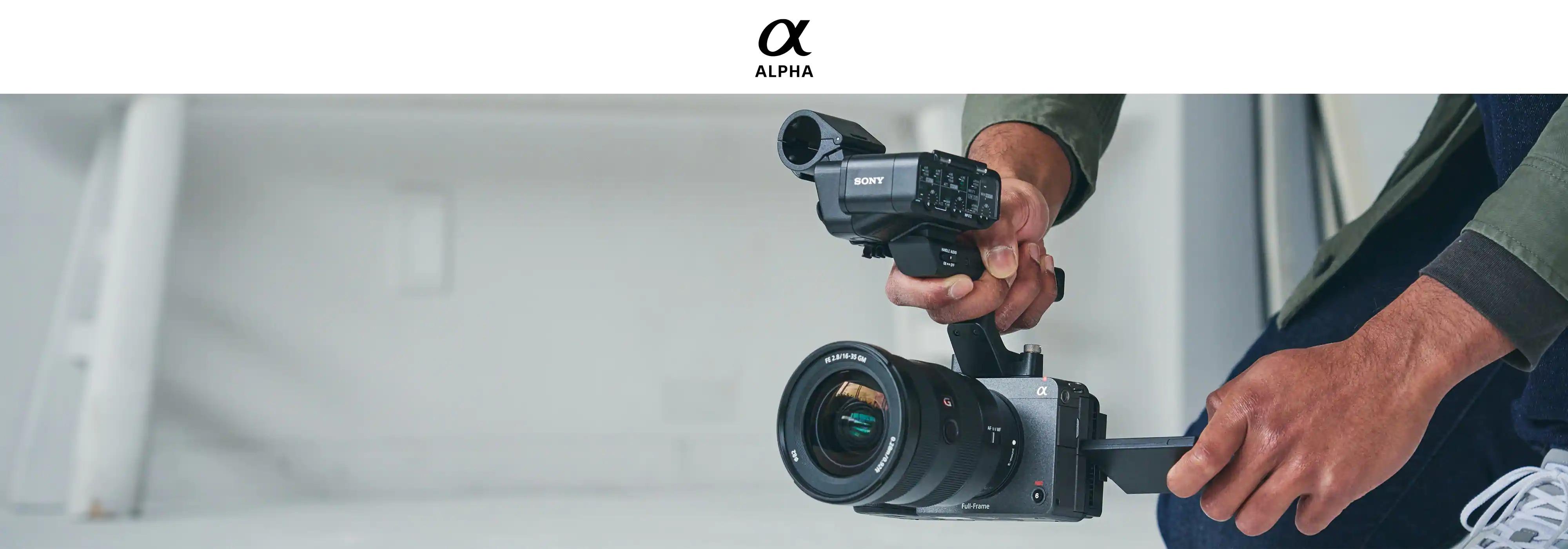 Máy quay full-frame Sony ILME-FX3