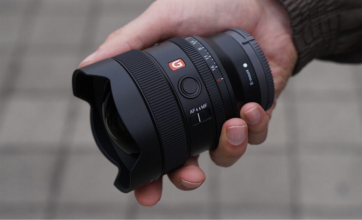 Ống kính máy ảnh Sony SEL14F18GM