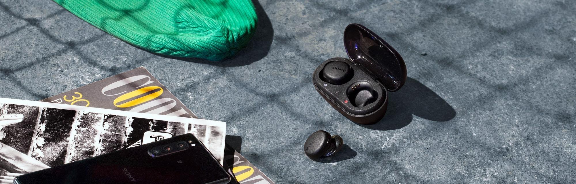 Tai nghe Sony WF-XB700