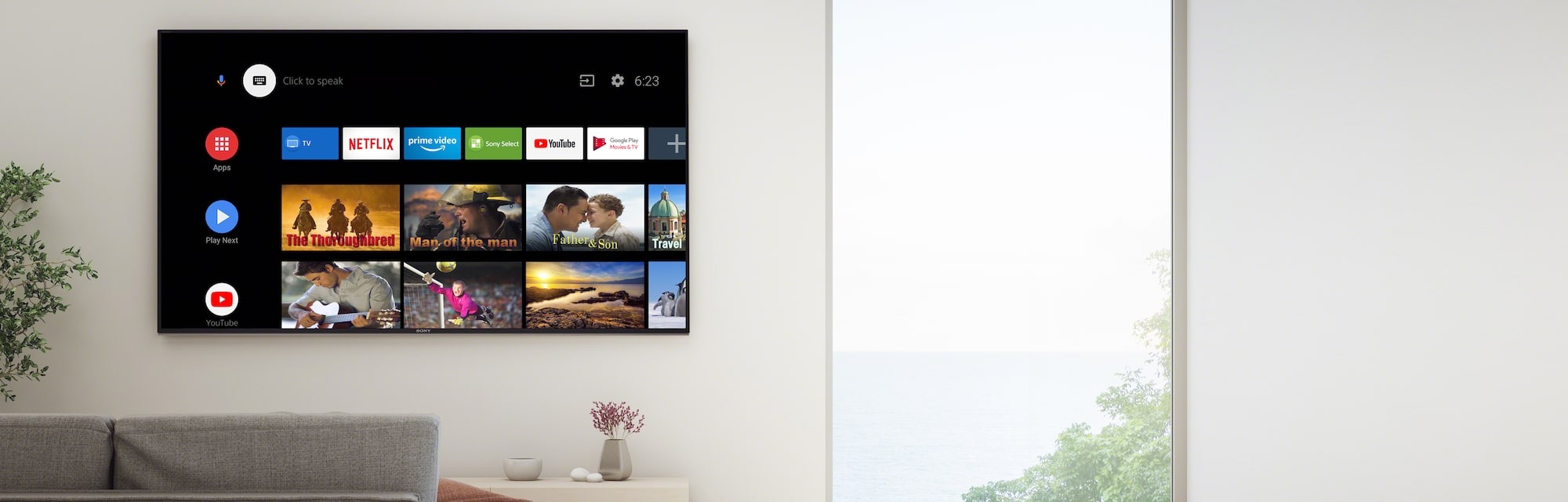 Tivi Sony KD-48A9S - OLED Android TV